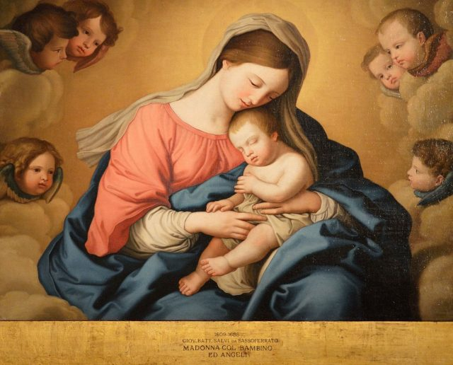 1200px Madonna With Child And Angels